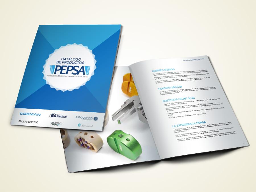 Catálogo de ventas, Diseño de brochures