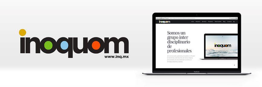 Nuevo sitio web de Inoquom