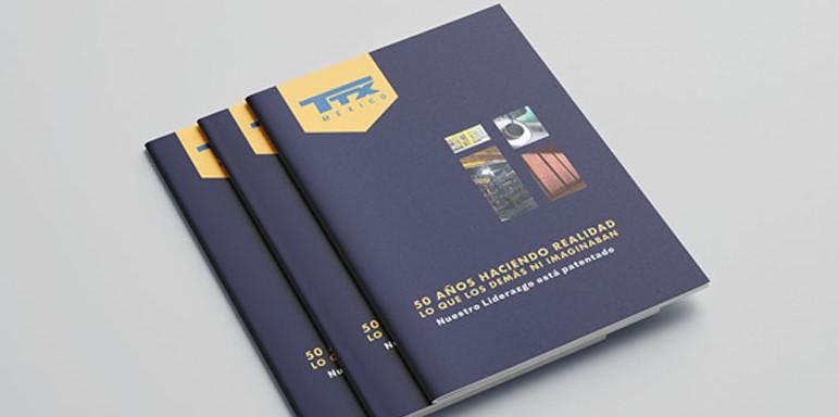 una buena impresión, impresos, empresa de diseño flyers folletos brochure empresarial