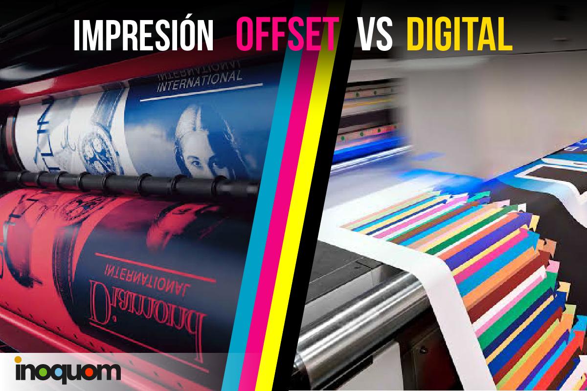 impresión Offset-digital