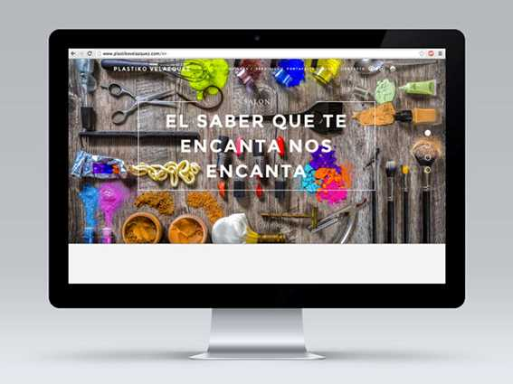 Web Plastiko Velázquez