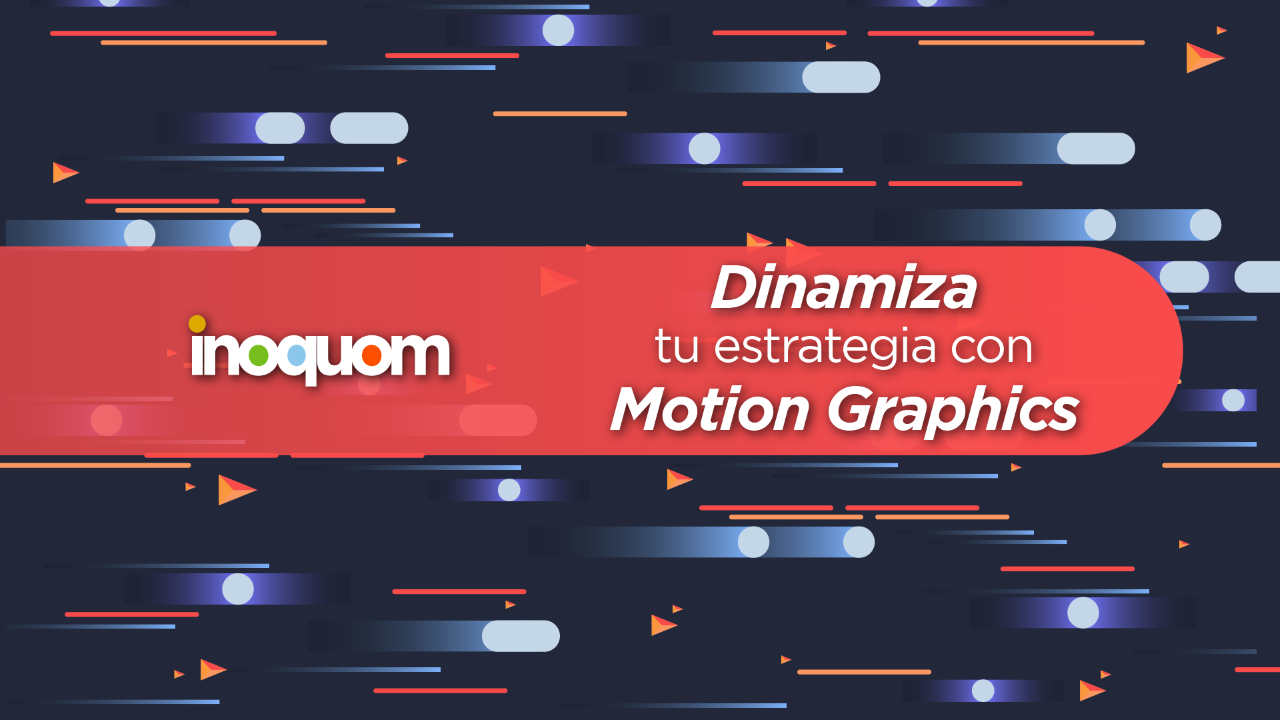 Estrategia digital con motion graphics